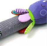 Cartoon éducatif Animal Rattle Squeak Soft Baby Octopus Toy