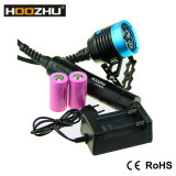 Hoozhu Hu33 maximale 4000 Lm Tauchens-Taschenlampe des Kanister-Tauchens-Licht-