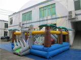 Campo de jogos inflável de Halloween, casa gigante do salto com preço barato
