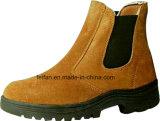 Ботинки безопасности Средний-Лодыжки замши кожаный с по-разному цветом