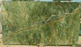 Größte Fabrik-tropischer Regenwald-Tisch-Grün-Marmor-Preis