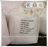 74% -77% de copos de cloruro de calcio / cloruro de calcio Pellets 77% / Nieve de fusión Agente / Cemento Aditivo