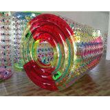 Rouleau de jeu d'eau gonflable en PVC ou TPU pour parc aquatique