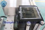Máquina de etiquetas em linha da impressão da caixa automática cheia