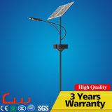 60W 80W painéis duplos lâmpada solar de iluminação de rua LED
