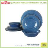 Ensemble de vaisselle en mélamine couleur personnalisée