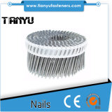 45 # Harden Heat Coated Plastic Galvanized Plastic Coil Nails
