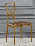Mobília Moderna Hot Sale Cadeira de jantar em metal de ferro com restaurante
