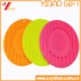 Custom Logo High Quality Hollow Silicone Mat with Coastor (YB-HR-21)