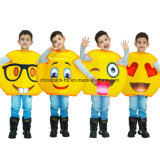 Emoji Funny Face Carnival Cartoon Party Costume pour enfants (CPGC70013X)