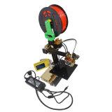 2017 imprimante de bureau portative de Fdm d'opération facile d'élévation mini 3D avec de l'ABS de PLA
