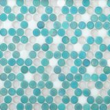 Het ronde Mozaïek van het Glas voor Vloer
