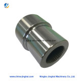 Hoge Precisie CNC die de Buis van het Roestvrij staal voor Machine machinaal bewerken