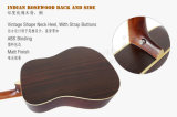 41 pulgadas - guitarra acústica Spruce sólida de la alta calidad (SG02SR)