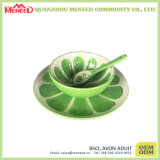 Cracker Design White Color Melamine Salad Bowl