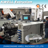 Rohr des Belüftung-Rohr-Strangpresßling-Machine/PVC, das Zeile bildet