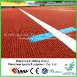 Pista corriente del caucho sintetizado de Iaaf para la pista del estándar de los 400m