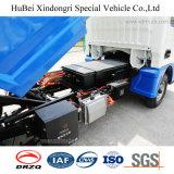 2cbm Naveco Yuejinのユーロ6の電気ハングのバレルのごみ収集車