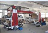 4개의 색깔 롤러 서류상 인쇄 기계