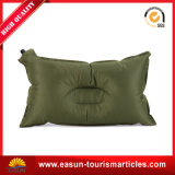 旅行のためのすべてのカラー正方形の形のプラスチック膨脹可能な首の枕