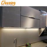 Gabinete de la luz LED de luz de estante de libros de cocina armario de vino de la luz de faro de LED de luz