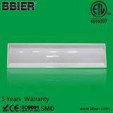 ETL 40W 1X4 LED Troffer Light pode substituir 120W HPS Mh 100-277VAC Ce RoHS Dlc