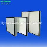 Миниые фильтры стеклоткани HEPA Pleat H10~H14