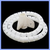 Plastikdraht-Management-Schlange-Kabelmuffe 1.5 Meter Kabel-Ablagekasten-Universalkabelklemme-gewundene einwickelnband-