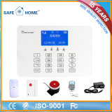 Fournisseur! Intelligent Wireless GSM Fire / Home Burglar Alarm