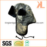Воискаа шерсти Polyester& прованские камуфлируют шлем зимы теплый