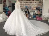 Aolanes Real Sample Bridal Wedding Gown