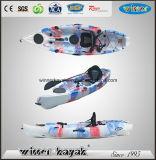 Kayak de pesca de mar plástico único barato