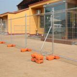 Frontière de sécurité provisoire soudée de pipe en acier