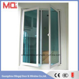 Guichet en aluminium de construction Mq-Acw007 de tissu pour rideaux de construction de guichet en verre