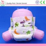 Soem-Zeile Anti-Leck Janpan Saft-hohe saugfähige Baby-Windel