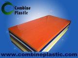 백색과 색깔 PVC Celluca PVC 거품 장