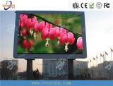 El panel publicitario a todo color al aire libre de P5 SMD LED