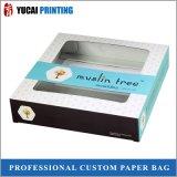 350g het witte Verpakkende Vakje van het Vakje van het Document van het Karton