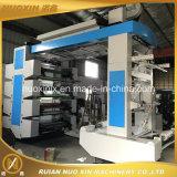 Impresora flexográfica de la película de color de la velocidad 8