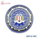 Оптовая торговля Custom полиции департамента юстиции монет для подарков