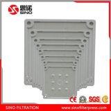 Prensa automática del filtro hydráulico con la placa del compartimiento para la desecación del lodo