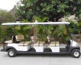 11 de Elektrische Auto van de Bus van de Pendel van de Luchthaven Seaters