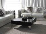 Table basse moderne à la maison d'or de Rose de meubles