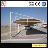 Tenda di parcheggio del veicolo di trasporto del metallo dello schermo di Sun, Carports del metallo con il tetto impermeabile dello strato