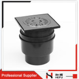 PET Rohr-Edelstahl-Metallhaltbarer Dusche-Toiletten-Badezimmer-Fußboden-Abfluss mit Schutzkappe
