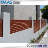Загородка высокого качества горизонтальная алюминиевая