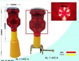 Luz de advertência de piscamento solar do diodo emissor de luz