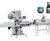 Schnelle Geschwindigkeits-leere Flasche Kurbelgehäuse-Belüftungshrink-Hülsen-beschriftensystems-Maschine