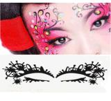 Collant à la mode de tatouage de collant d'oeil de masque d'oeil d'art d'oeil