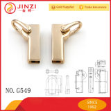 Cusotm Zinc Alloy Metal Fittings Conexão Buckle Handbag Hardware